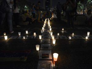 Cada 100 delitos comunes, sólo 8 se investigan y sancionan en Venezuela. Federico Parra AFP/ Getty